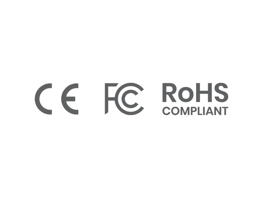ce, fc, RoHS compliant
